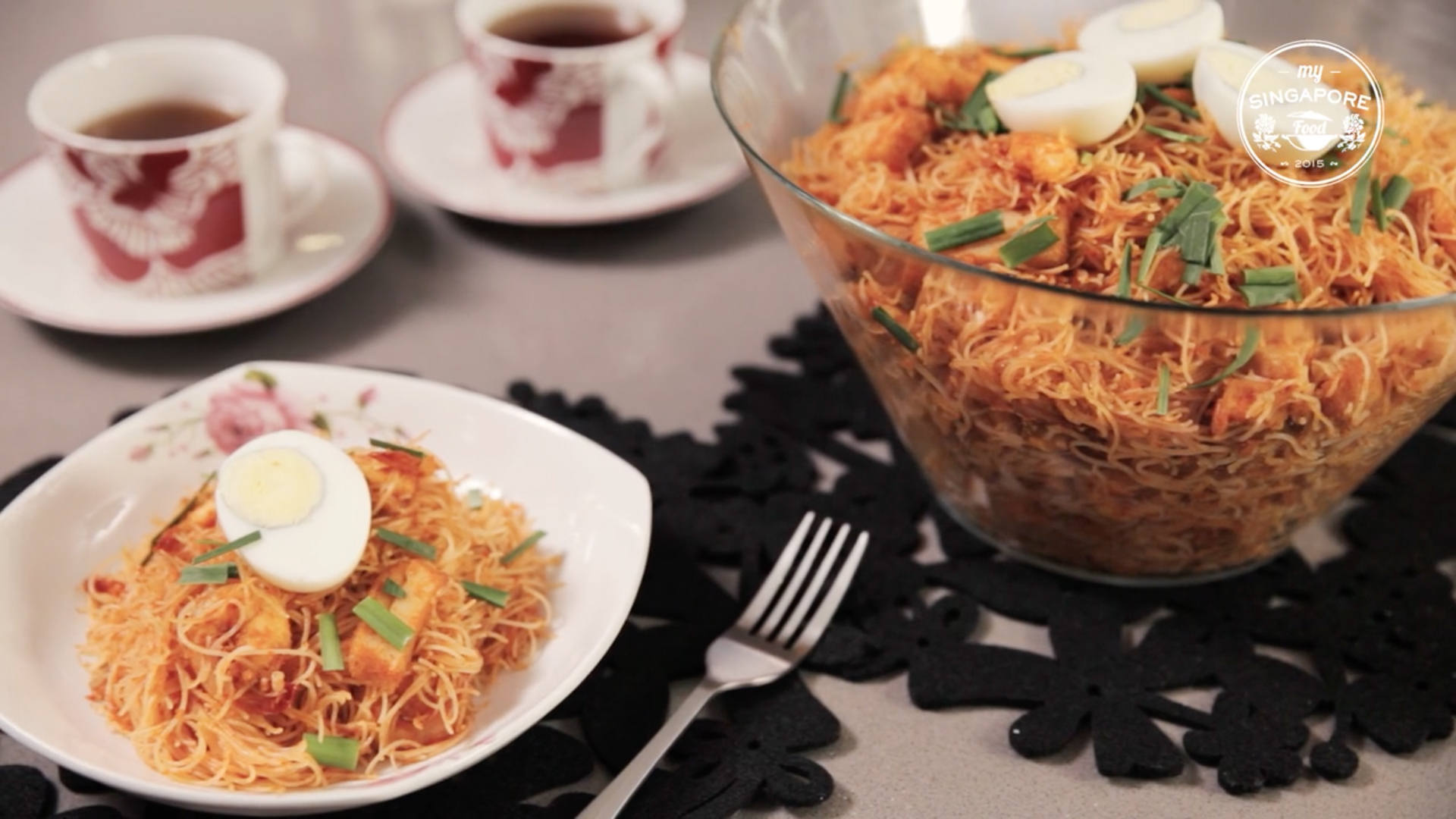 Mee Siam Goreng - My Singapore Food